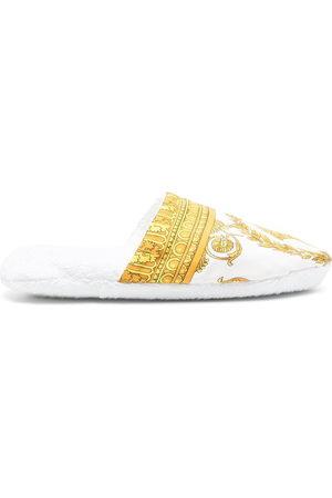 Versace Home Indoor Shoes - Medusa print slippers