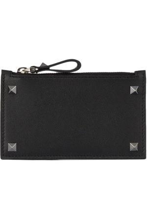 VALENTINO GARAVANI Men Wallets - Rockstud zip cardholder