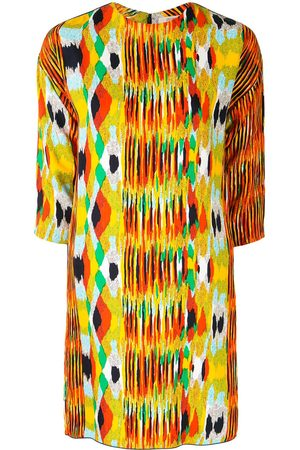 Céline Pre-owned abstract print shift dress