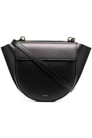 Wandler Curved leather crossbody bag