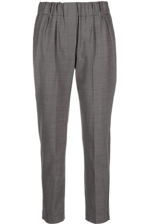 Brunello Cucinelli Tapered-leg trousers