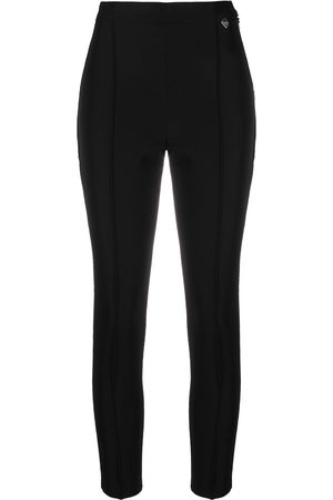 Twin-Set High-waist cropped trousers