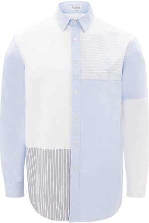 J.W.Anderson RELAXED PATCHWORK SHIRT