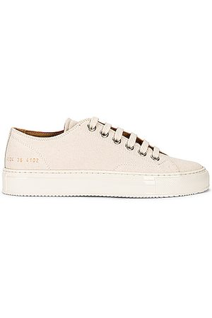 COMMON PROJECTS Tournament Low Canvas Sneaker in Off