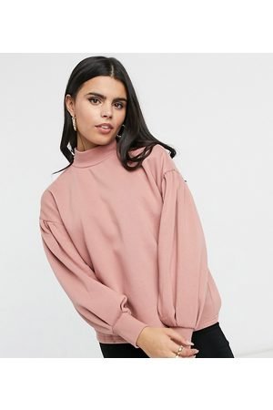 Vero Moda Sweat with high neck in pink