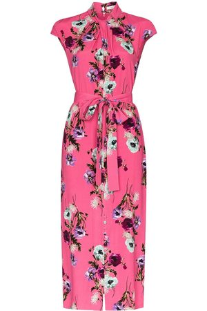 Erdem Finn floral print silk midi dress