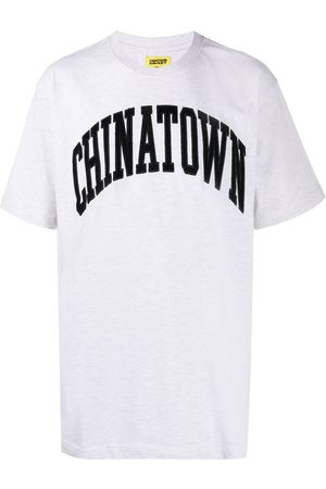 Chinatown Market Corduroy logo cotton T-shirt
