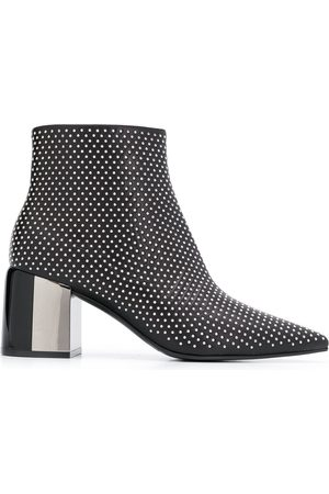 Casadei Women Boots - Stud embellished boots