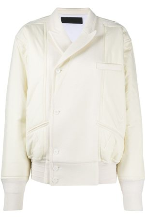 Haider Ackermann White bomber jacket