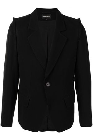 ANN DEMEULEMEESTER Single-breasted tailored blazer