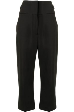 Haider Ackermann Cropped wool trousers