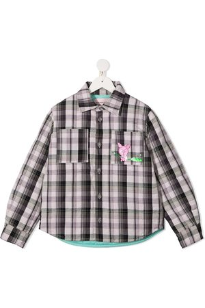 Natasha Zinko Checked shirt jacket