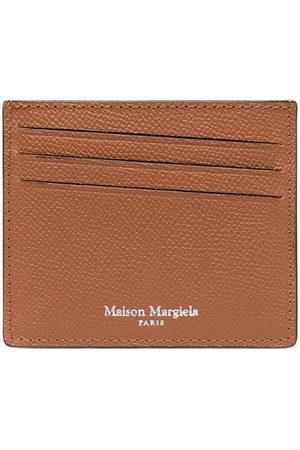 Maison Margiela Men Wallets - Four-stitch logo cardholder