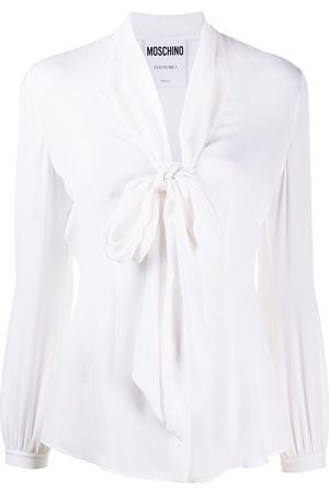 Moschino Pussy-bow fastening blouse