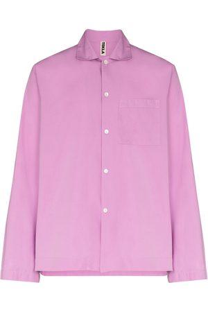Tekla Men Long sleeves - Long-sleeve pajama shirt