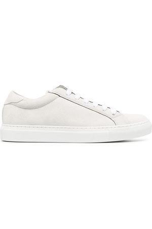 Brunello Cucinelli Leather baseball trainers