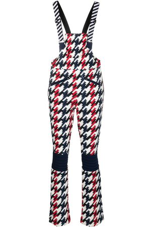 Perfect Moment Women Jumpsuits - Houndstooth-print jumpsuit