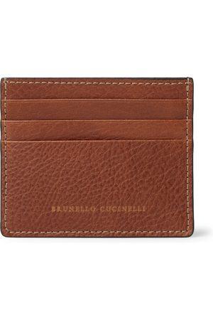 Brunello Cucinelli Full-Grain Leather Cardholder