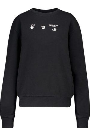 OFF-WHITE Logo cotton sweatshirt