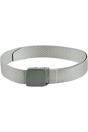 Kastner Men Silver-Toned Woven Design Belt