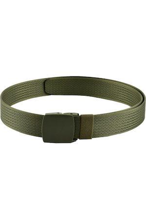 Kastner Men Olive Green Solid Belt