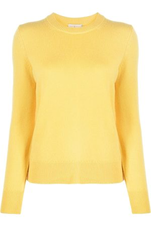 Tory Burch Elbow patch cashmere jumper