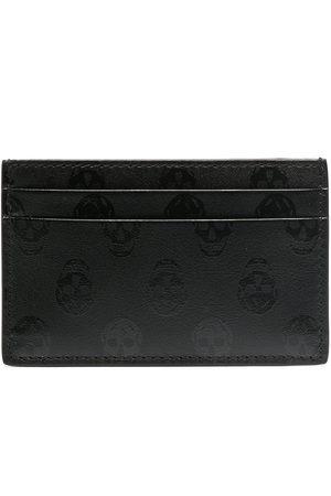 Alexander McQueen Men Wallets - Skull-print cardholder
