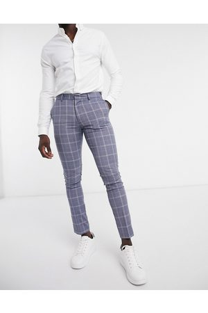 New Look Skinny check suit trouser in