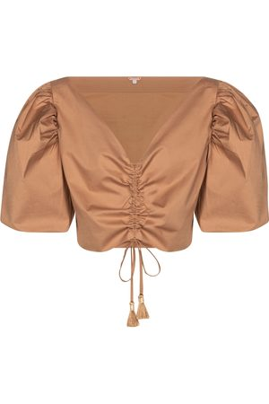 JOHANNA ORTIZ Real Expedition puff sleeve blouse