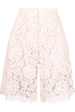 Dolce & Gabbana Knee-length lace shorts