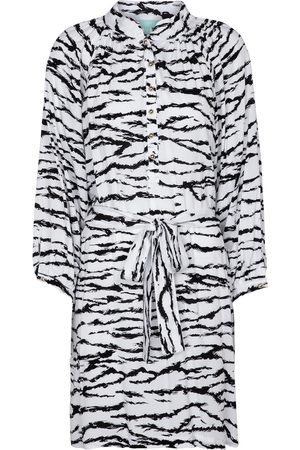 Melissa Odabash Amy tiger-print minidress
