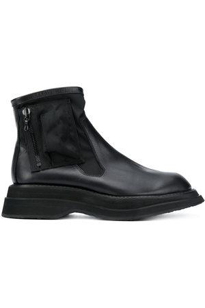 JULIUS Utility pocket ankle boots