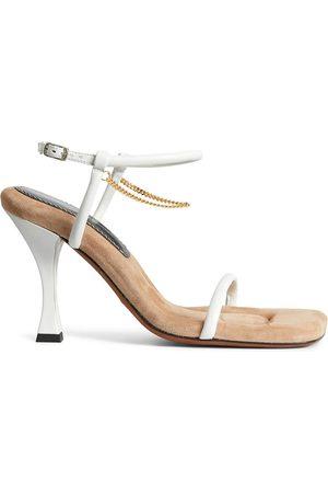 Proenza Schouler Chain detail high heel sandals