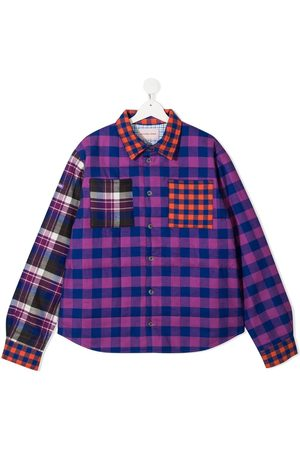 Natasha Zinko Plaid check shirt