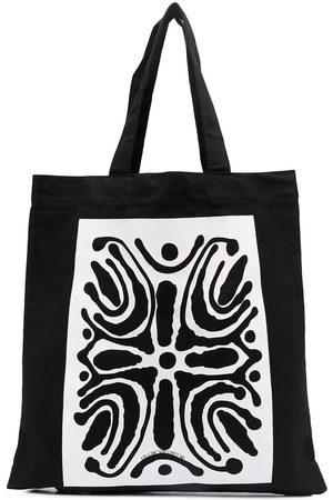 10 CORSO COMO Abstract print tote bag