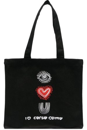 10 CORSO COMO I Love You print tote bag