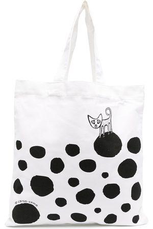 10 CORSO COMO Polka-dot print tote bag