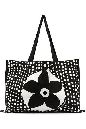 10 CORSO COMO Floral-print tote bag