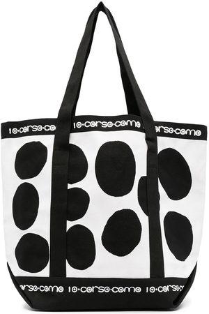 10 CORSO COMO Two-tone tote bag