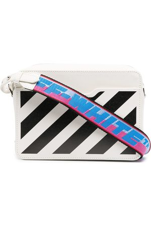 OFF-WHITE Mini Diag flap bag