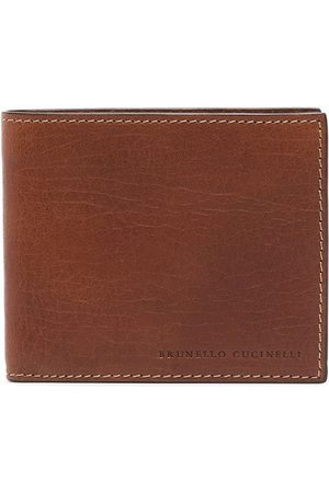 Brunello Cucinelli Debossed logo billfold wallet