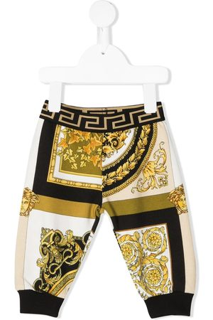 VERSACE Barocco-print jogger trousers