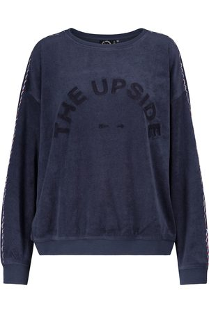 The Upside Alena cotton terry sweatshirt