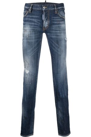 Dsquared2 Bros patch distressed jeans