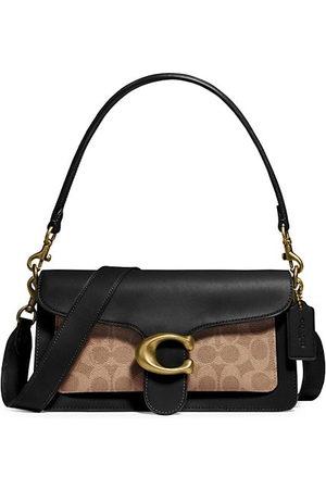 Coach Women Handbags - Coated Canvas Signature T Baguette Bag