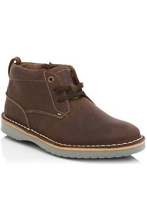 Florsheim Little Kid's & Kid's Navigator Jr. Leather Chukka Boots