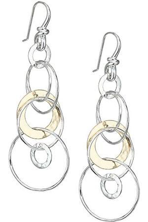 Ippolita Men Earrings - Classico Chimera Two-Tone Hammered Jet Set Earrings
