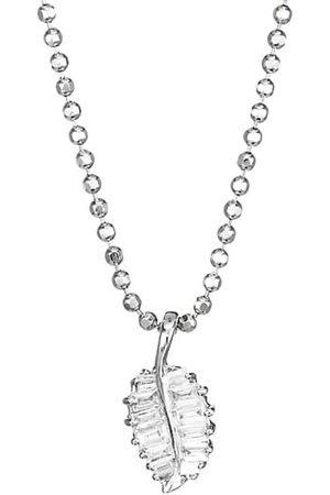 Anita 18K & Diamond Small Palm Leaf Pendant Necklace