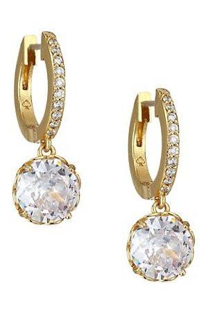 Kate Spade Earrings - That Sparkle Pave Huggie Hoop Earrings