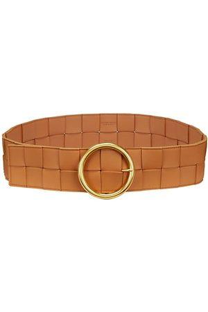Bottega Veneta Belts - Intrecciato Leather Wide Belt